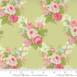 Cottage Linen Closet - Main Floral Sprout - PRE-ORDER DUE FEBRUARY
