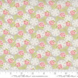 Cottage Linen Closet - Lacey Daisy Pebble - PRE-ORDER DUE FEBRUARY