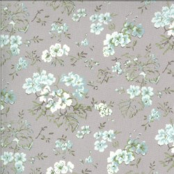 Dover - Field Floral Grey - PRE-ORDER DUE OCTOBER