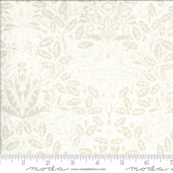 Dover - Acorn Damask Linen White - PRE-ORDER DUE OCTOBER