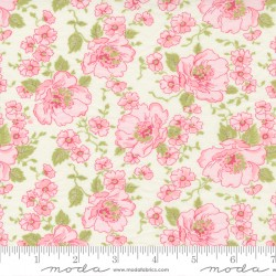 Grace - Main Floral Linen White - PRE-ORDER DUE SEPTEMBER