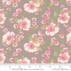 Grace - Main Floral Cobblestone - PRE-ORDER DUE SEPTEMBER