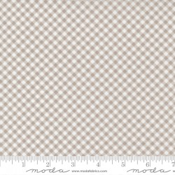Grace - Gingham Cobblestone - PRE-ORDER DUE SEPTEMBER