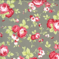 Sophie - Main Floral Cobblestone - PRE-ORDER DUE MARCH