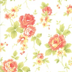 Catalina - Cabbage Rose Cloud - PRE-ORDER DUE APRIL