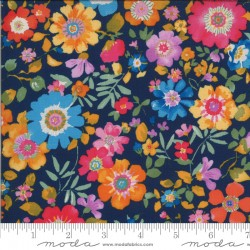 Lulu - Flower Garden Navy - PRE-ORDER DUE MARCH