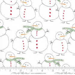Merry And Bright - Snowmen Winter White - PRE-ORDER DUE JUNE