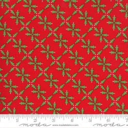 Merry And Bright - Forest Poinsettia Red - PRE-ORDER DUE JUNE