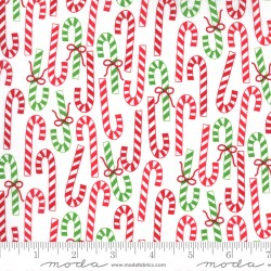 Merry And Bright - Canes Winter White