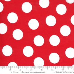 Merry And Bright - Giant Dot Poinsettia Red - PRE-ORDER DUE JUNE