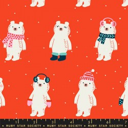 Ruby Star Society - Flurry - Snow Bears Ruby