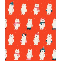Ruby Star Society - Flurry - Snow Bears Ruby - PRE-ORDER DUE JULY
