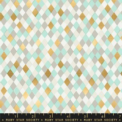 Ruby Star Society - Flurry - Gift Wrap Mint - PRE-ORDER DUE JULY