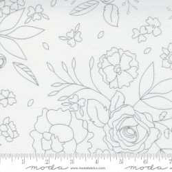 Beautiful Day - Blooms White - PRE-ORDER DUE JANUARY