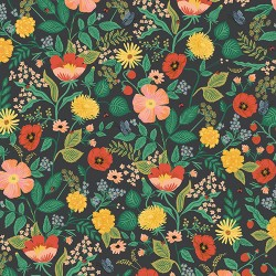 Camont by Rifle Paper Co - Blossom Black - PRE-ORDER DUE NOVEMBER/DECEMBER