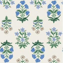 Camont by Rifle Paper Co - Flowers Blue - PRE-ORDER DUE NOVEMBER/DECEMBER