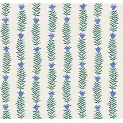 Camont by Rifle Paper Co - Floral Stripe Blue - PRE-ORDER DUE NOVEMBER/DECEMBER