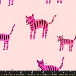 Ruby Star Society - Darlings - Tiger Stripes Hot Pink