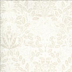 Dover - Acorn Damask Linen White - PRE-ORDER DUE OCTOBER