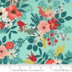 Lady Bird - Wild Flowers Aqua - PRE-ORDER DUE SEPTEMBER