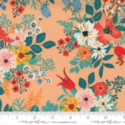 Lady Bird - Wild Flowers Cantaloupe - PRE-ORDER DUE SEPTEMBER