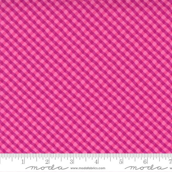 Petal Power - Bias Plaid Popping Pink - PRE-ORDER DUE NOVEMBER