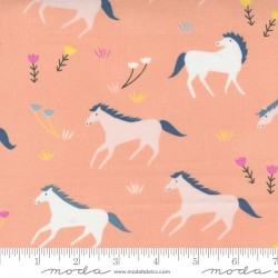 Meander - Horses Peach - PRE-ORDER DUE MARCH