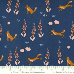 Meander - Foxes Navy - PRE-ORDER DUE MARCH