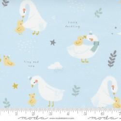 Little Ducklings - Bundle of 10 Fat Quarters White Blue - 1 FQ Free! - PRE-ORDER DUE JUNE