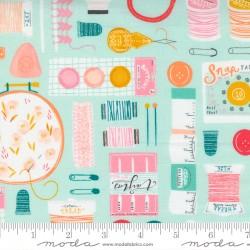 Sew Wonderful - A Wonderful Notion Soft Aqua - PRE-ORDER DUE DECEMBER