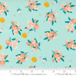 Sew Wonderful - Ditsy Soft Aqua - PRE-ORDER DUE DECEMBER