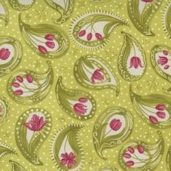 Tulip Tango - Tulip Paisley Chartreuse - PRE-ORDER DUE MAY