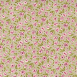 Tulip Tango - Tiny Tulip Washed Linen - PRE-ORDER DUE MAY