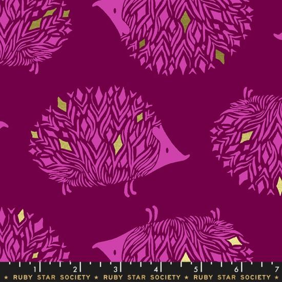 Ruby Star Society - Darlings - Prickles Purple Velvet