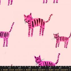 Ruby Star Society - Darlings - Tiger Stripes Hot Pink
