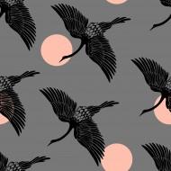 Ruby Star Society - Florida - Egrets Slate Grey - PRE-ORDER DUE NOVEMBER