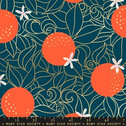 Ruby Star Society - Florida - Orange Blossoms Peacock - PRE-ORDER DUE NOVEMBER