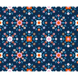 Ruby Star Society - Smol - Folkometry Navy - PRE-ORDER DUE NOVEMBER