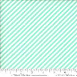 Shine On - Stripe Aqua - PRE-ORDER DUE NOVEMBER