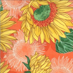 """Solana - Sunflowers Clementine - 28"""" Bolt End"""
