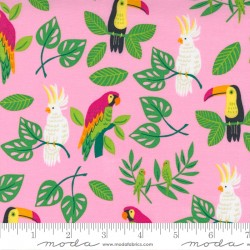 Jungle Paradise - Birds In Paradise Pink - PRE-ORDER DUE SEPTEMBER