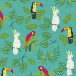Jungle Paradise - Birds In Paradise Peacock - PRE-ORDER DUE SEPTEMBER