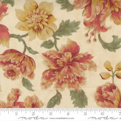 Threads That Bind - Wild Rose Bouquet in Parchment - PRE-ORDER DUE MARCH