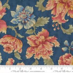 Threads That Bind - Wild Rose Bouquet in Indigo - PRE-ORDER DUE MARCH