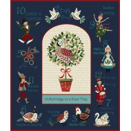 12 Days Of Christmas - Wallhanging Panel