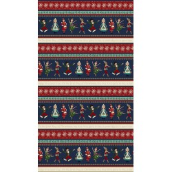 12 Days Of Christmas - Border Print