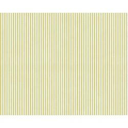 White Christmas - Stripe Gold Grey