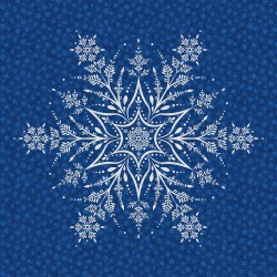 Winter Frost - Snowflake Panel - PRE-ORDER DUE JULY