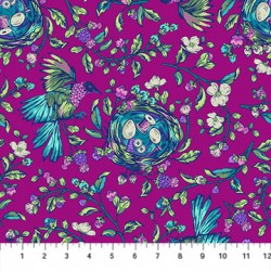 Stag and Thistle - Bird and Nest Dark Pink - PRE ORDER DUE MAY 2020