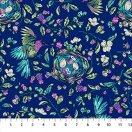 Stag and Thistle - Bird and Nest Dark Blue - PRE ORDER DUE MAY 2020